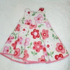 Baby Gap Floral Sleeveless Dress 12-18m